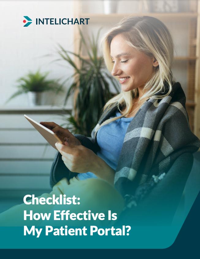 How Effective is My Patient Portal Checklist